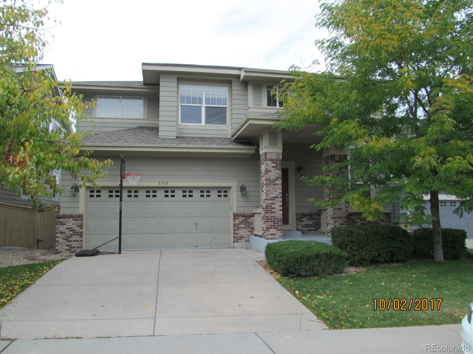 3568 Craftsbury Drive, Highlands Ranch, CO 80126 - Highlands Ranch, CO real estate listing