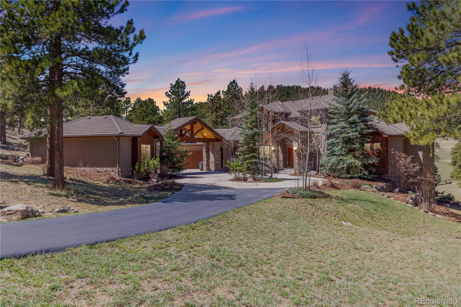 1265 Silver Rock Lane, Evergreen, CO 80439 - Evergreen, CO real estate listing