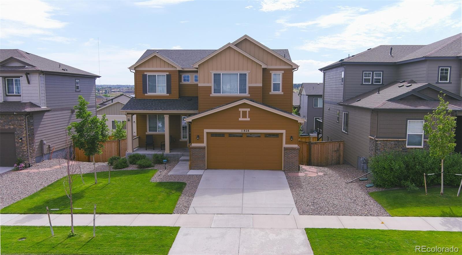 11828 Churchfield Street Property Photo - Parker, CO real estate listing