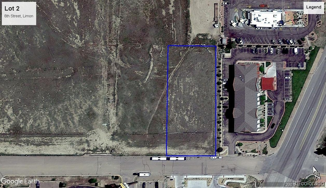 Lot 2 6th Street Property Photo - Limon, CO real estate listing