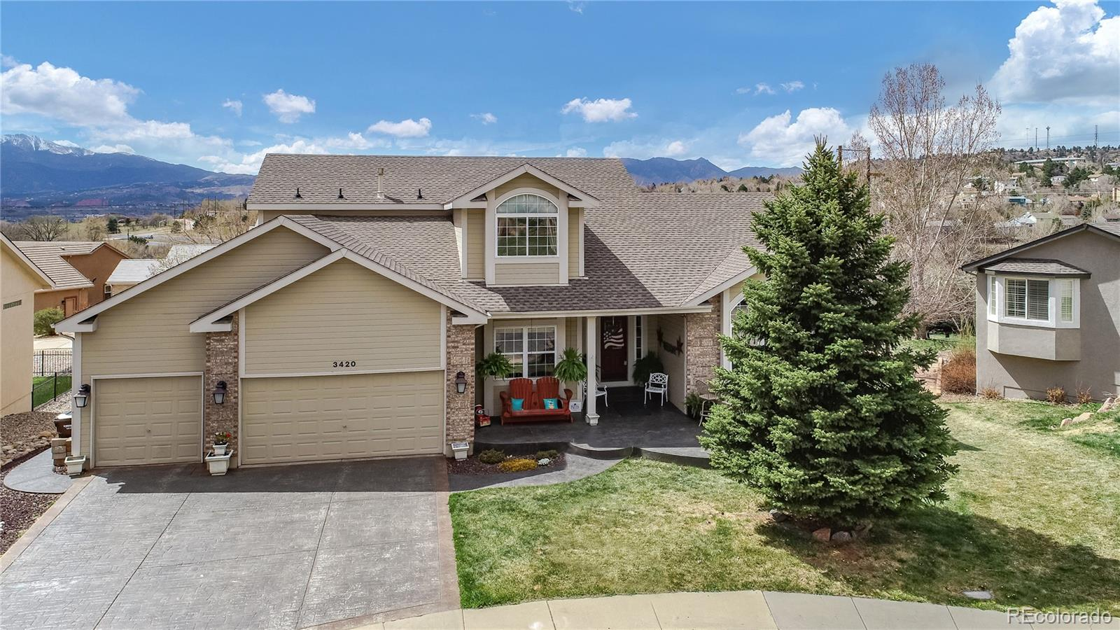 3420 Palmer Hill Court Property Photo - Colorado Springs, CO real estate listing