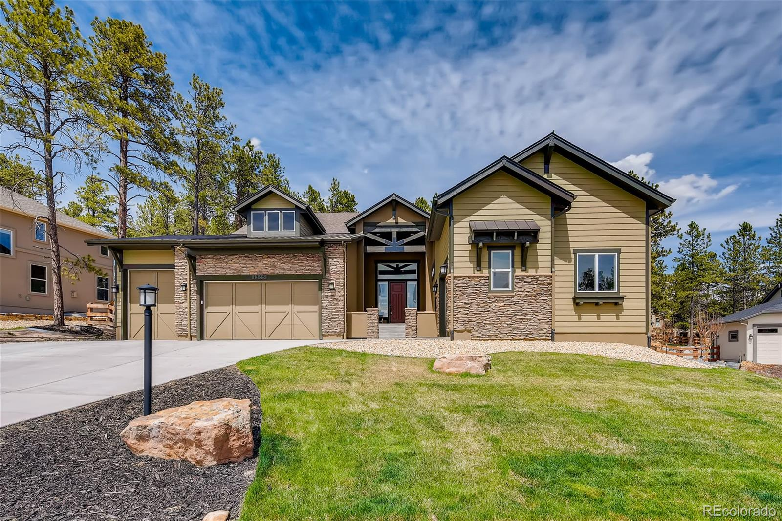 1385 Catnap Lane Property Photo - Monument, CO real estate listing