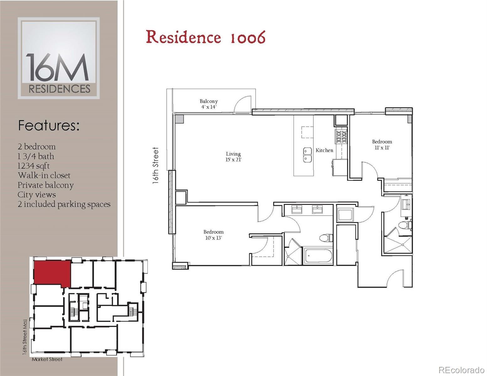 1560 Market Street #1006 Property Photo - Denver, CO real estate listing