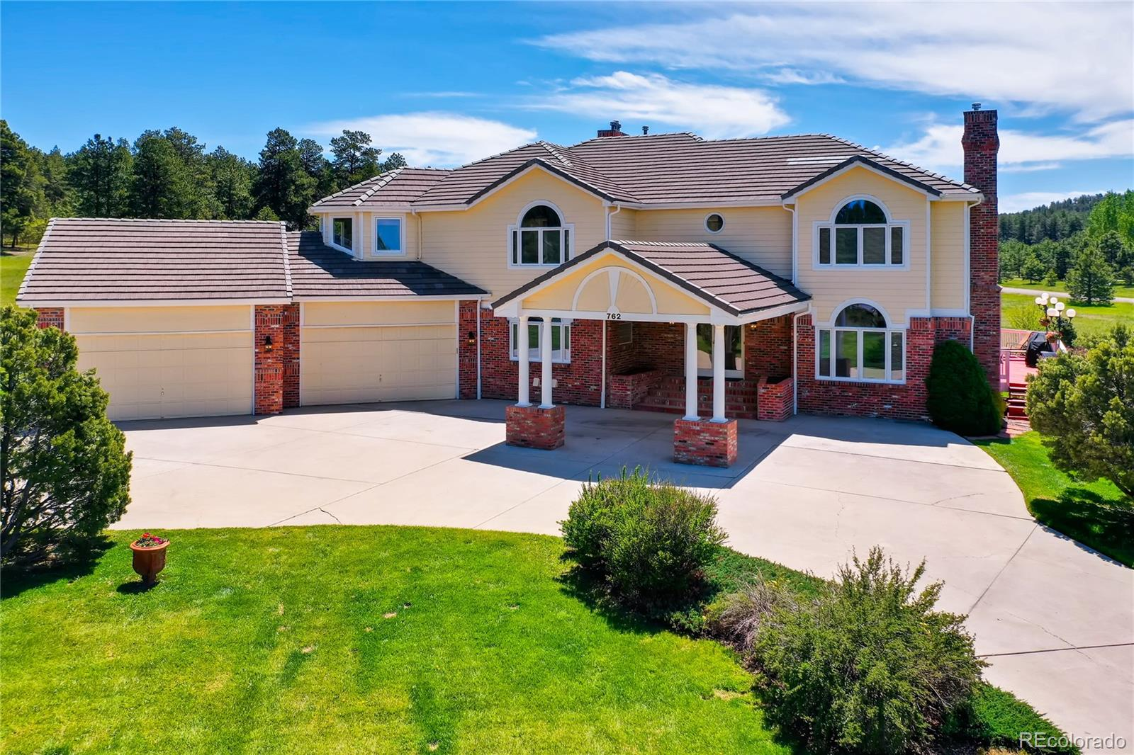762 Red Deer Road Property Photo - Franktown, CO real estate listing