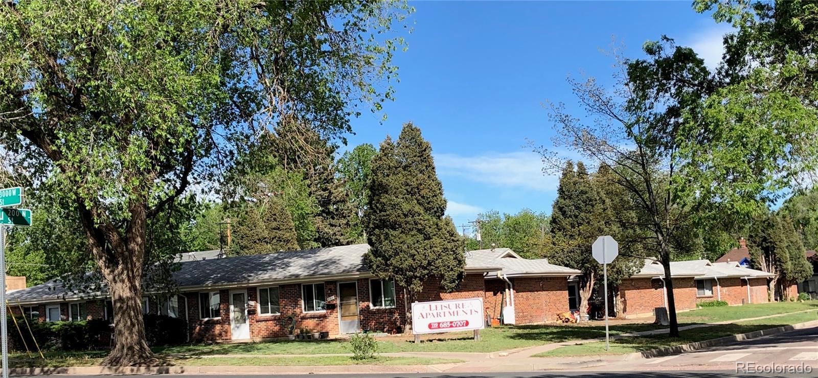 2916 W Bijou Street Property Photo - Colorado Springs, CO real estate listing