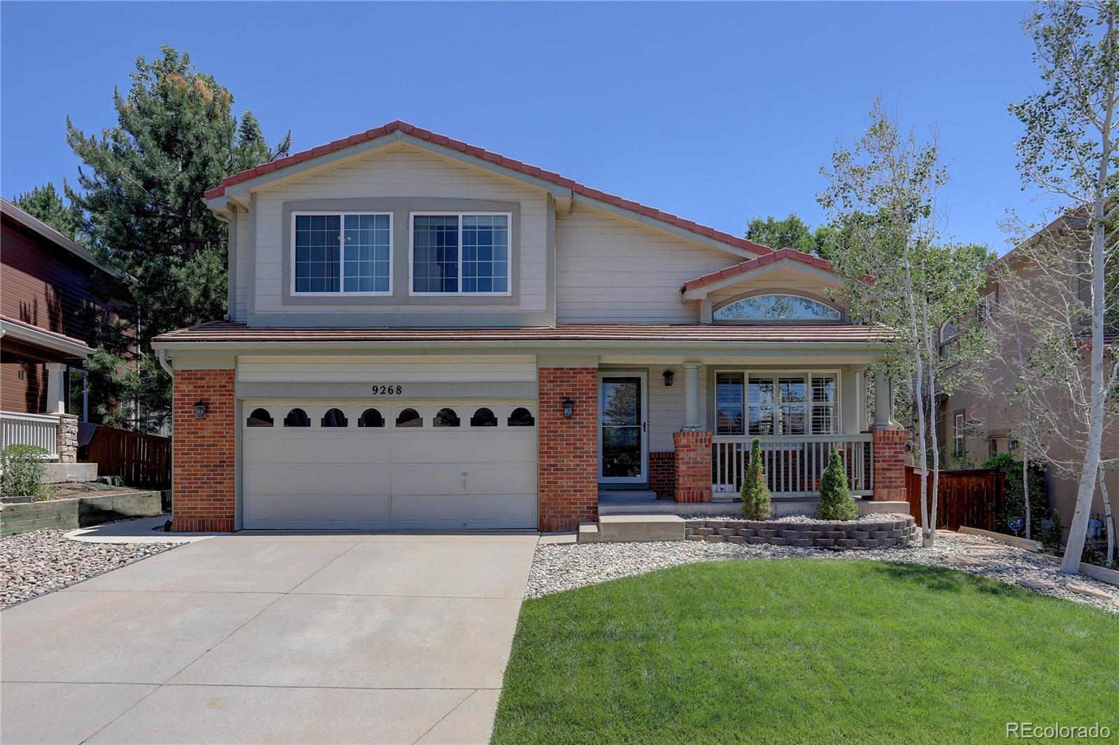9268 Roadrunner Drive Property Photo - Highlands Ranch, CO real estate listing