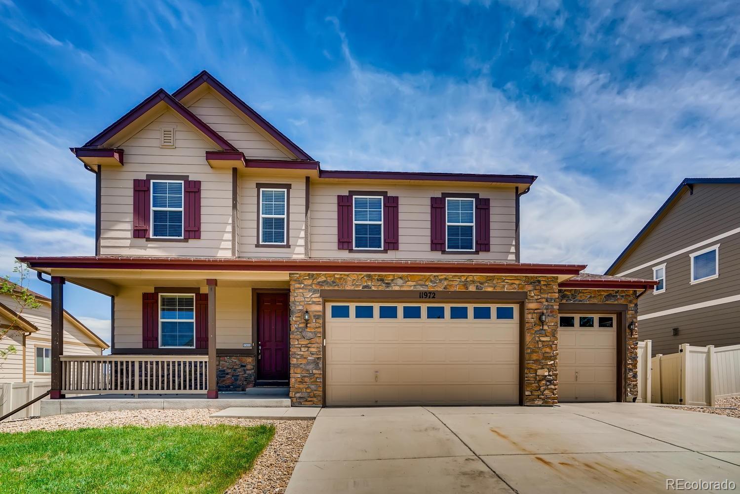 11972 Blakeford Street Property Photo - Parker, CO real estate listing