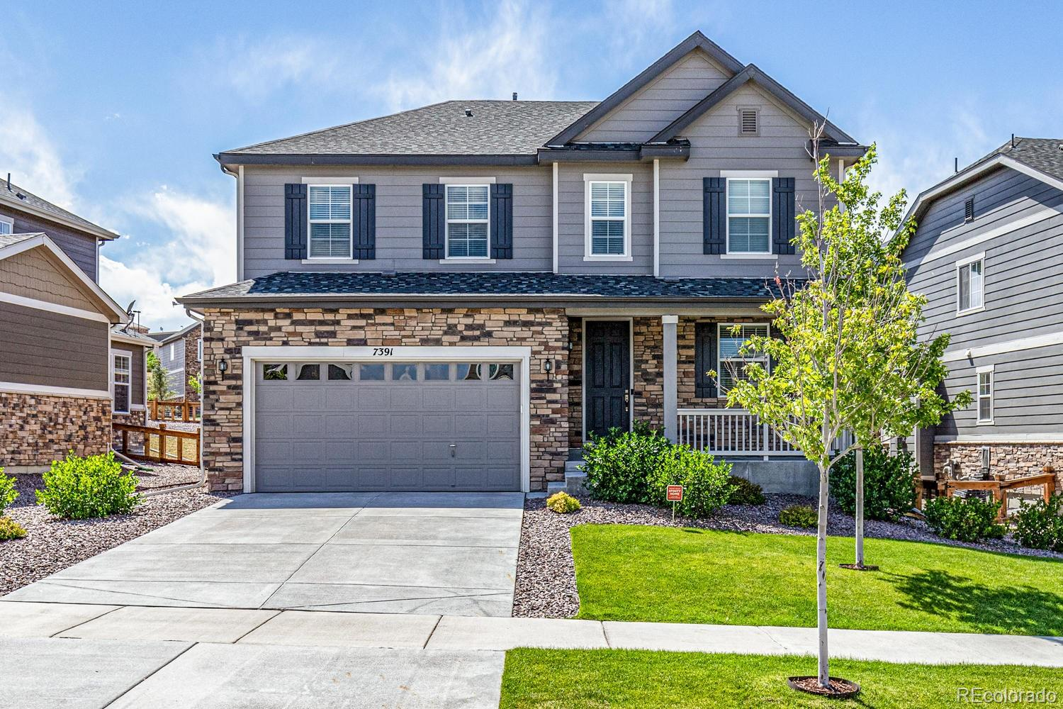 7391 S Old Hammer Way Property Photo - Aurora, CO real estate listing