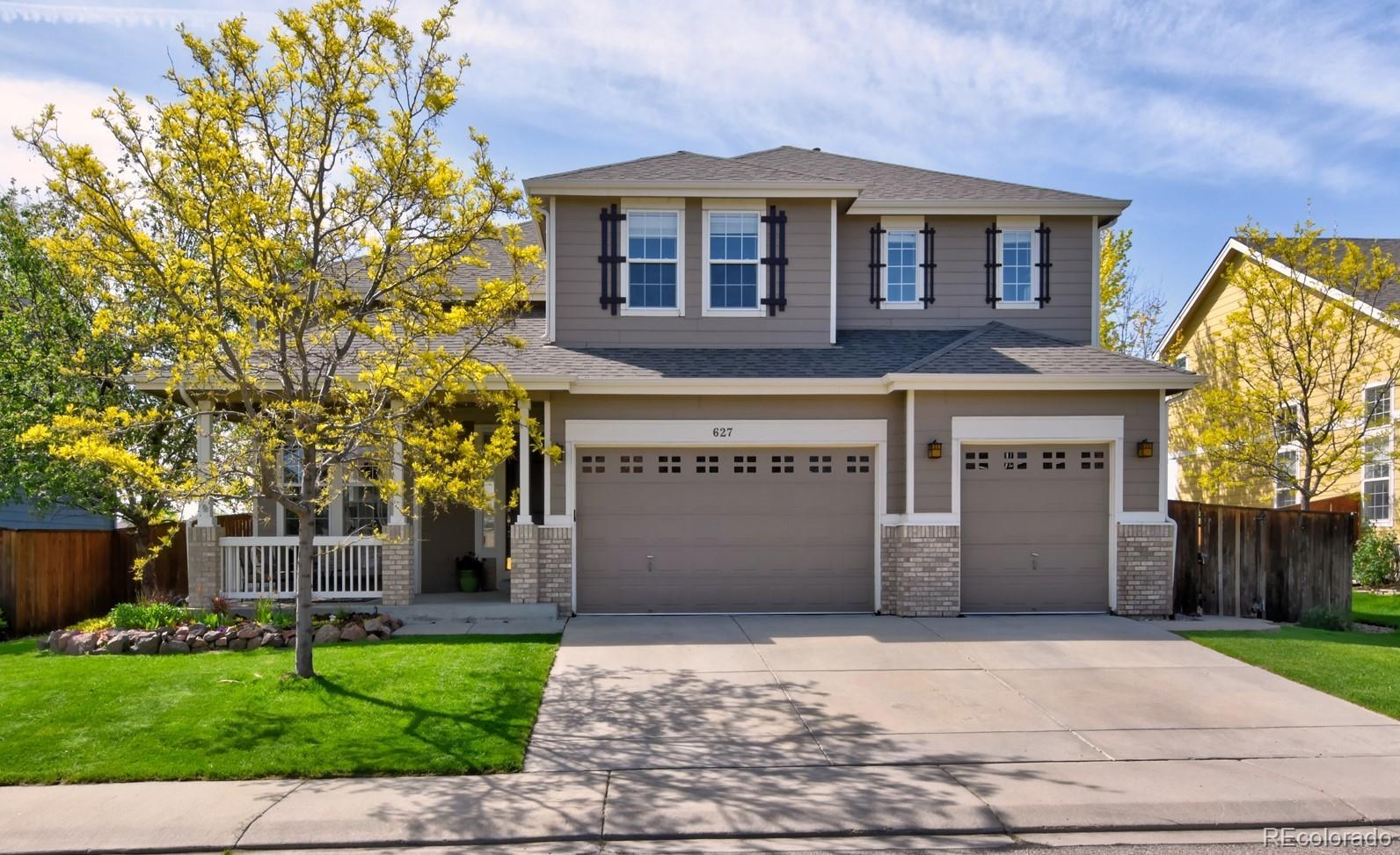 627 Glenarbor Circle Property Photo - Longmont, CO real estate listing