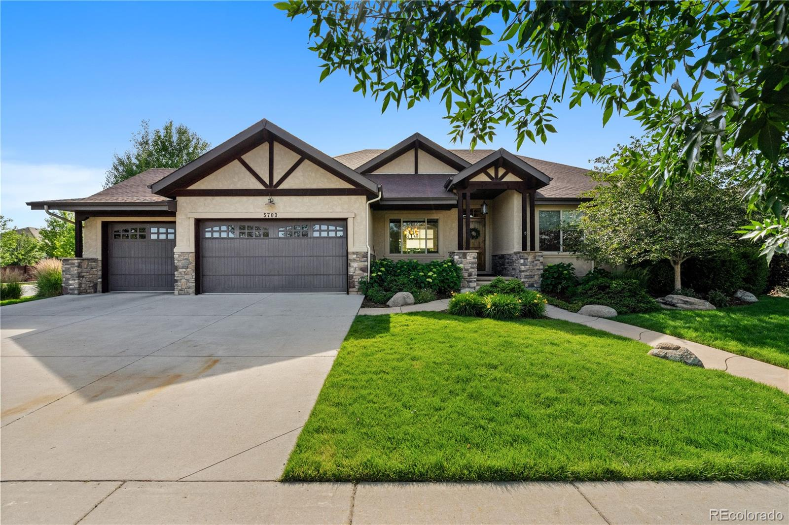 5703 Red Bridge Drive Property Photo - Timnath, CO real estate listing