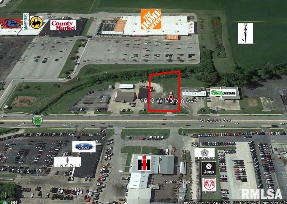 1691-93 W MORTON Property Photo - Jacksonville, IL real estate listing