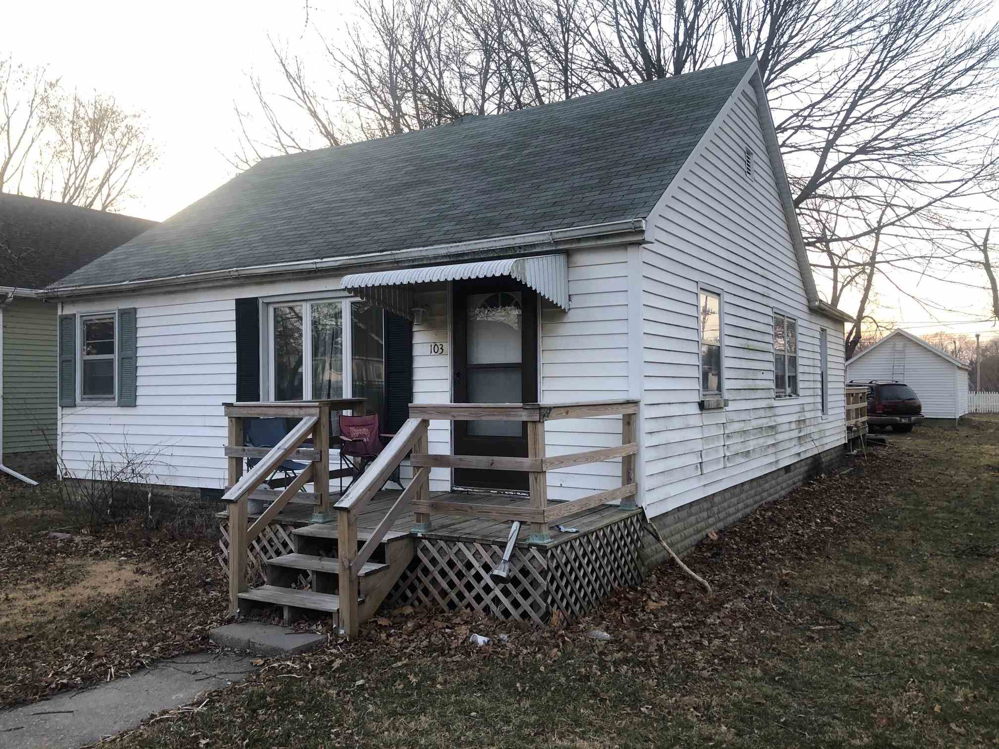 103 S Bogardus Property Photo - Elkhart, IL real estate listing