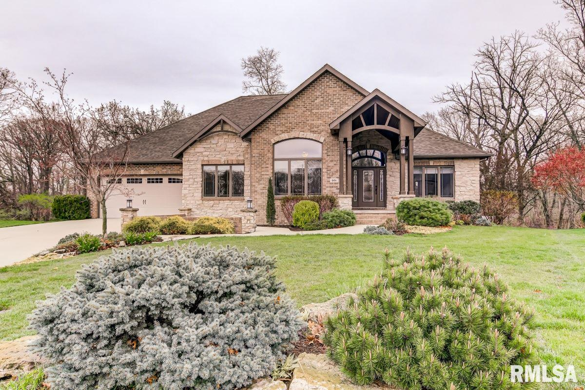 501 Deer Meadow Property Photo - Chatham, IL real estate listing