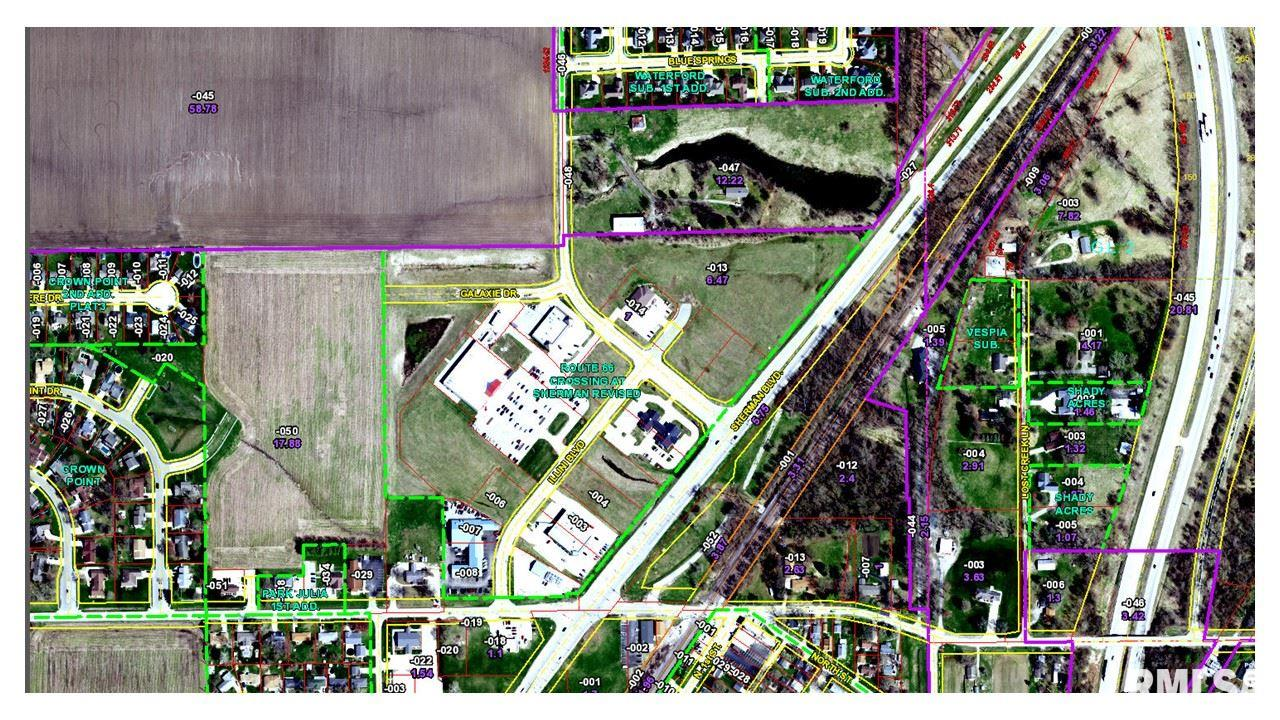 Village Center Property Photo - Sherman, IL real estate listing
