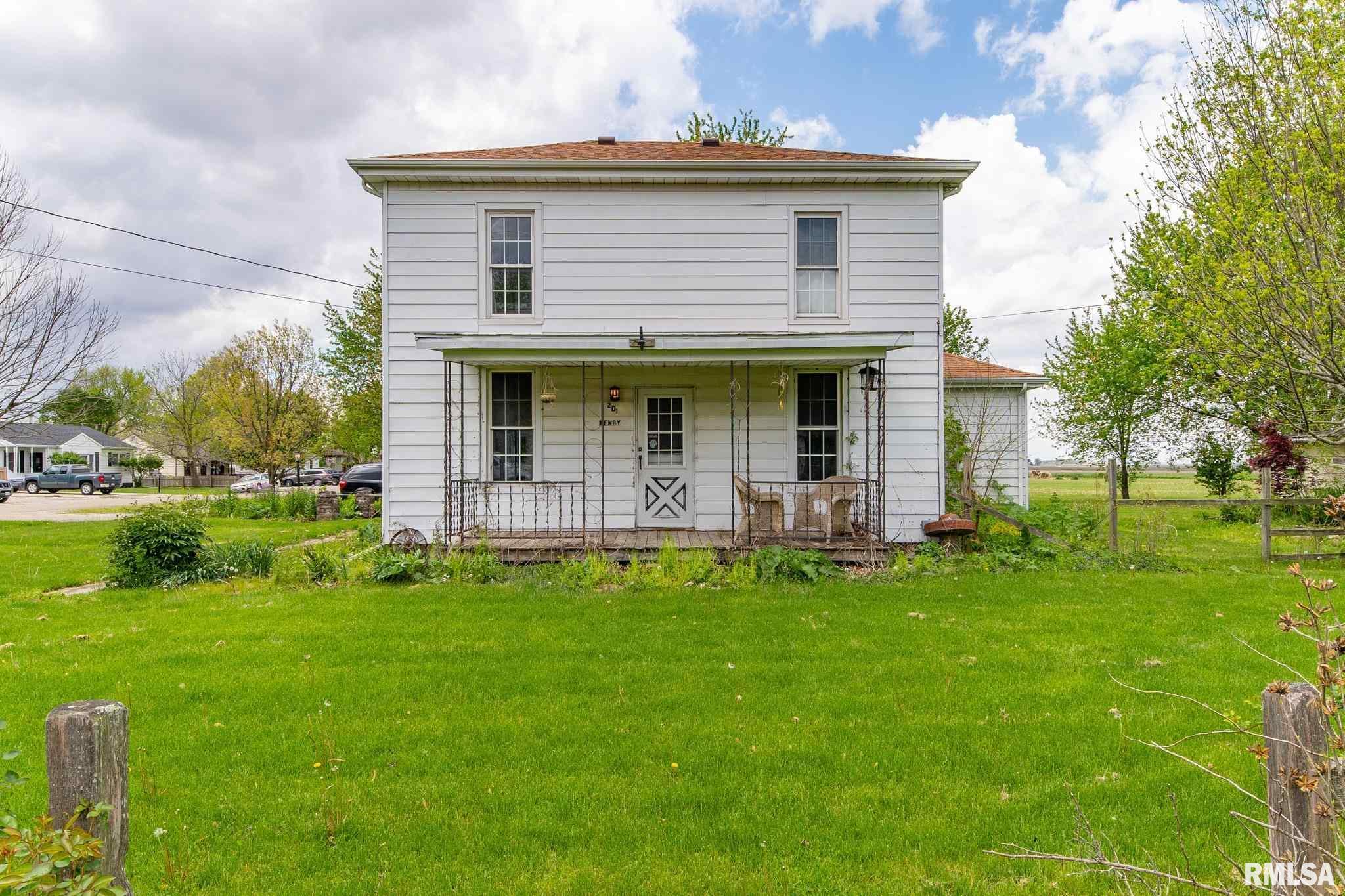 201 N 4TH Property Photo - Hartsburg, IL real estate listing