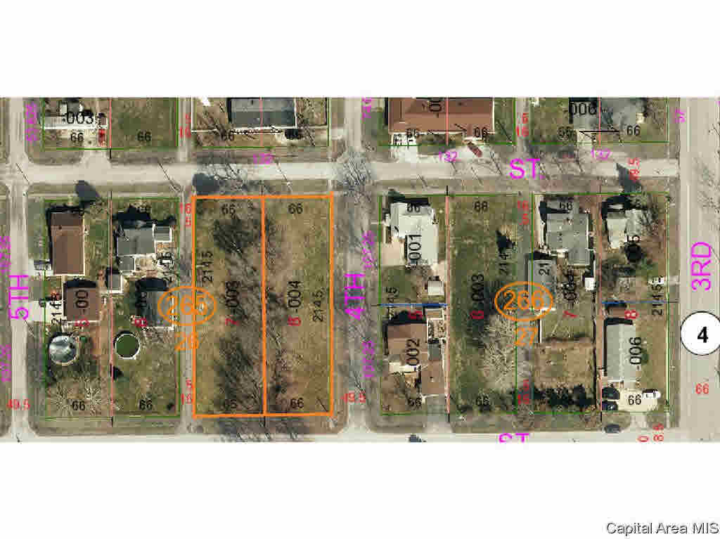 Lot 8 4TH S Property Photo - Girard, IL real estate listing