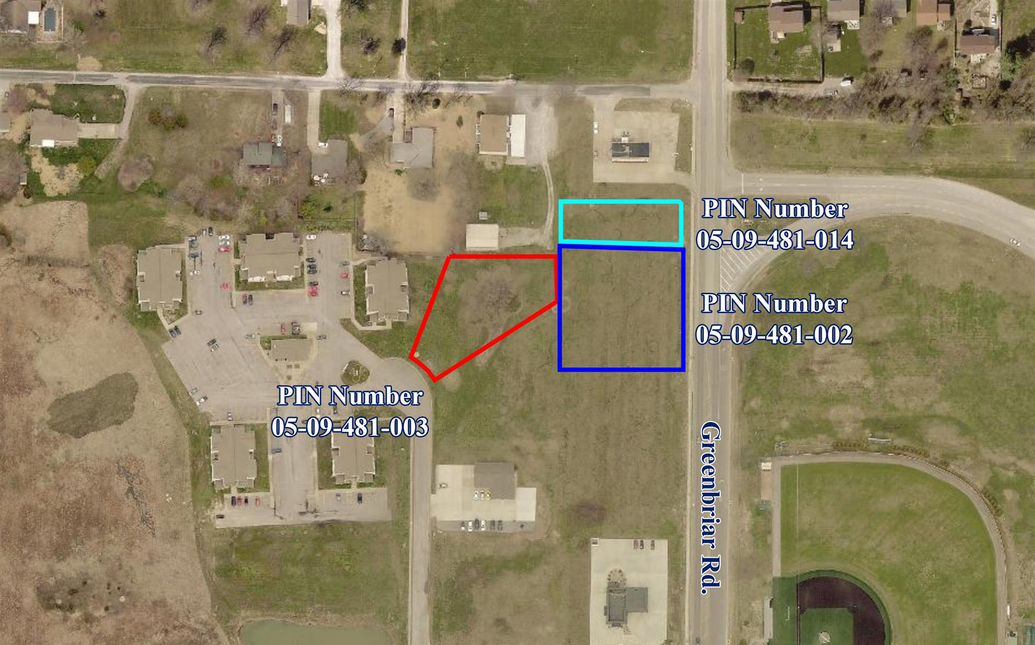 Lot 1/2 GREENBRIAR Property Photo - Carterville, IL real estate listing