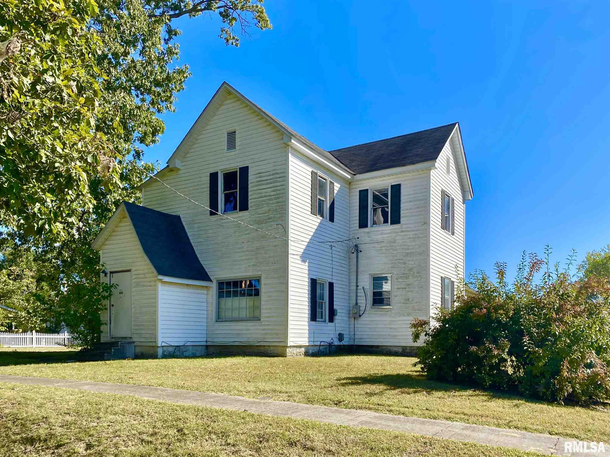 403 W Murray Property Photo - Sesser, IL real estate listing