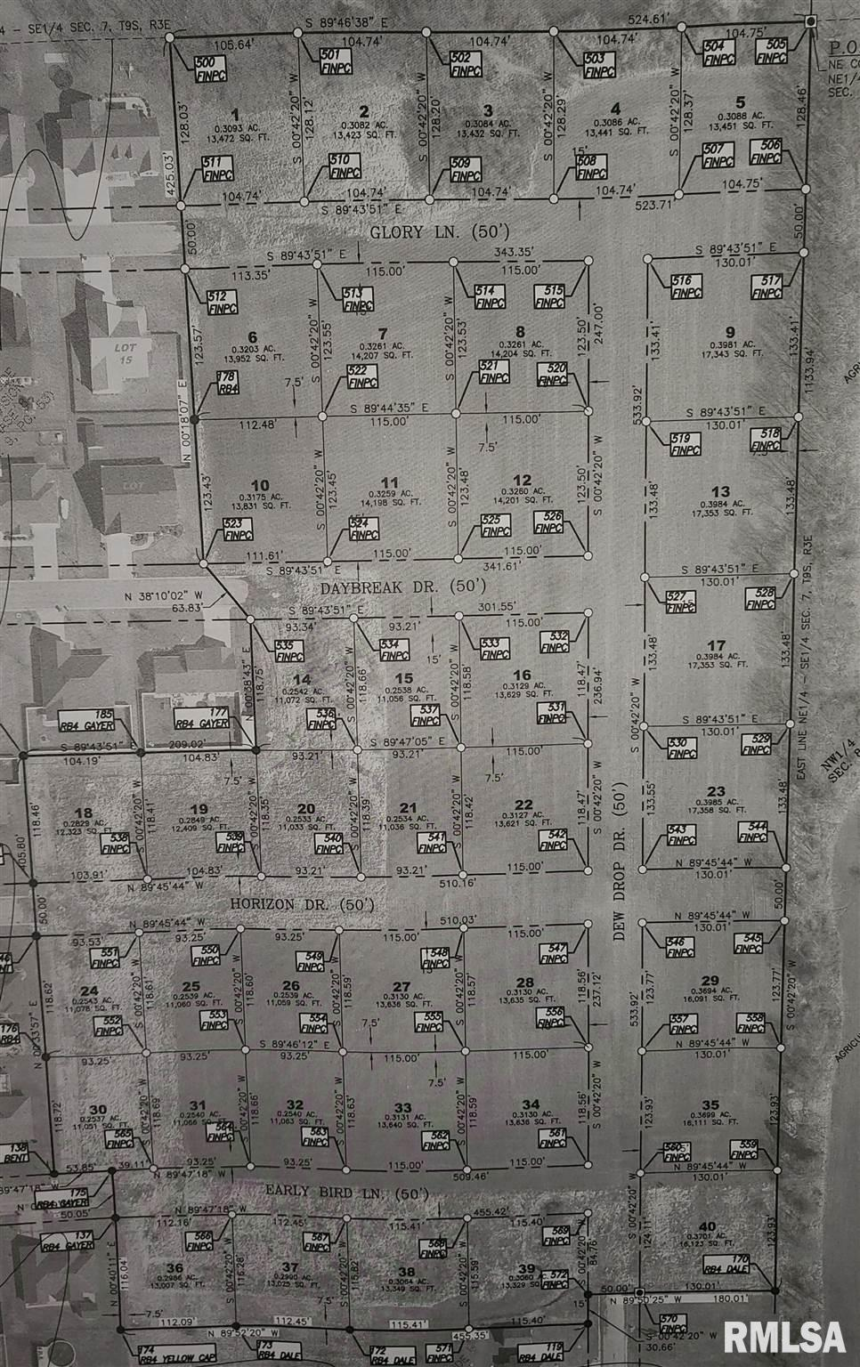 Lot 20 HORIZON Property Photo