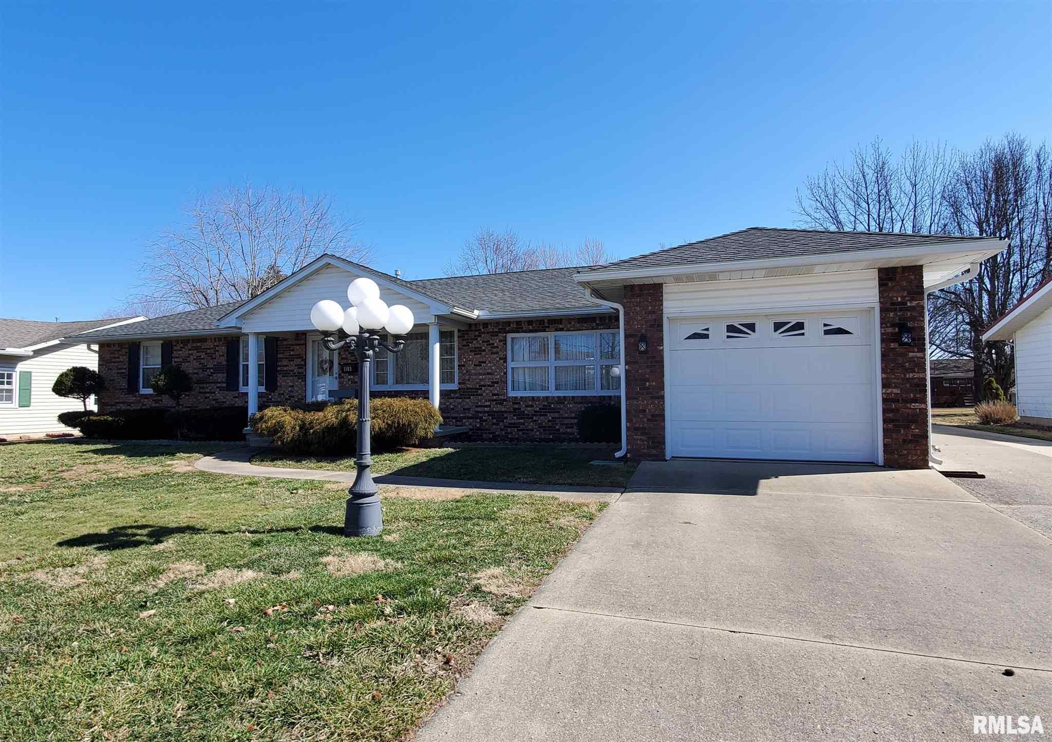 1103 Meadow Hills Property Photo - McLeansboro, IL real estate listing