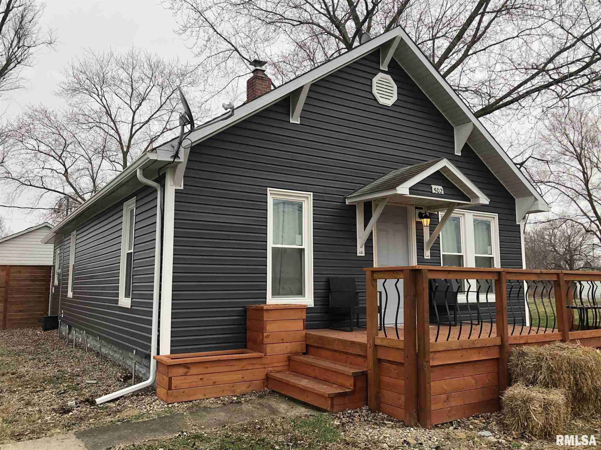 502 S OAK Property Photo - Patoka, IL real estate listing