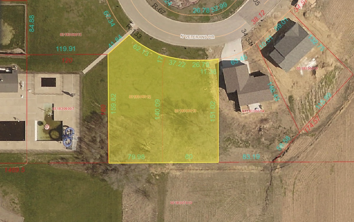 LOT 5 & 6 VETERANS Property Photo - Princeville, IL real estate listing