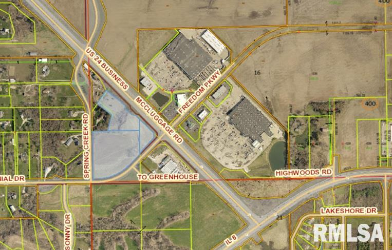 SW Corner US 24 & Centennial Property Photo - Washington, IL real estate listing