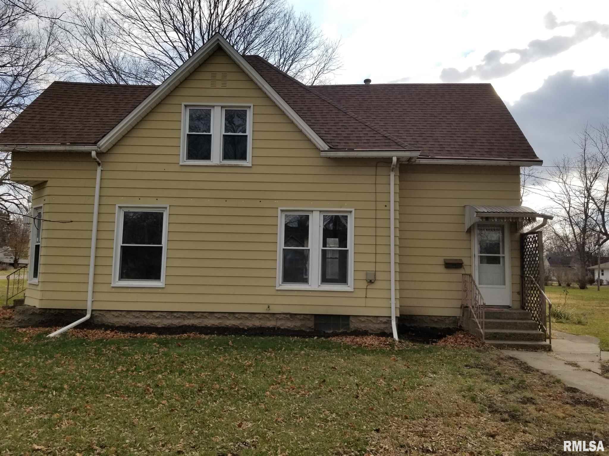 201 S PARK Property Photo - Manito, IL real estate listing
