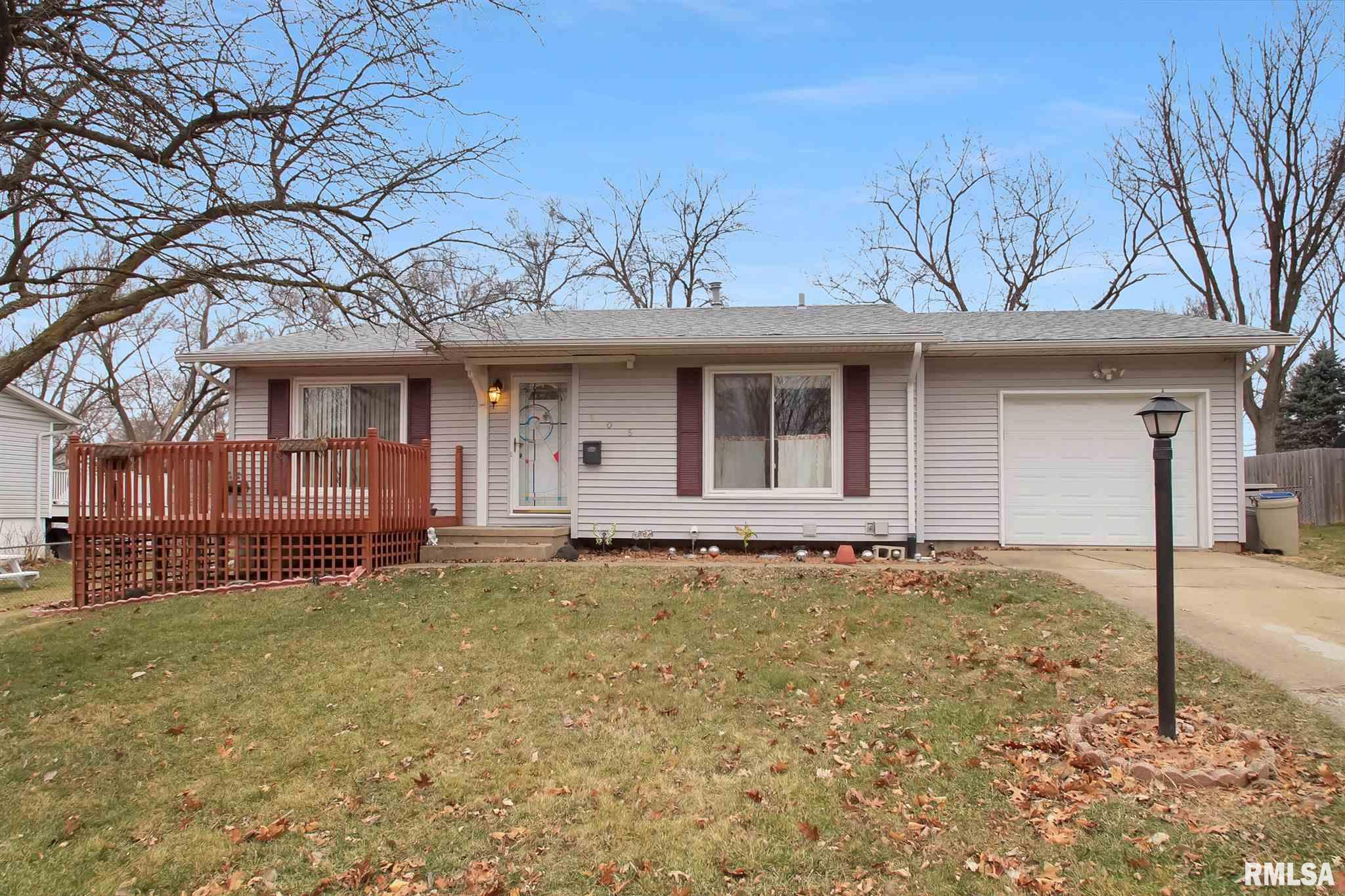 605 JOLIET Property Photo - Marquette Heights, IL real estate listing