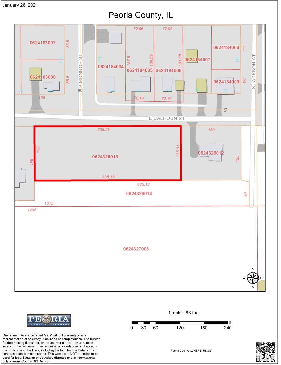 E CALHOUN Property Photo - Brimfield, IL real estate listing