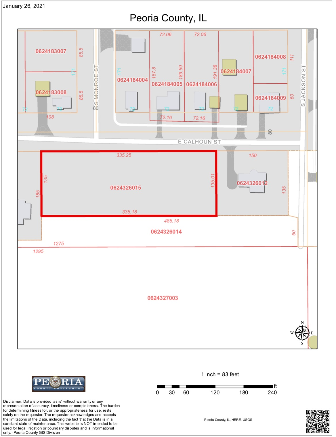 00 E CALHOUN Property Photo - Brimfield, IL real estate listing