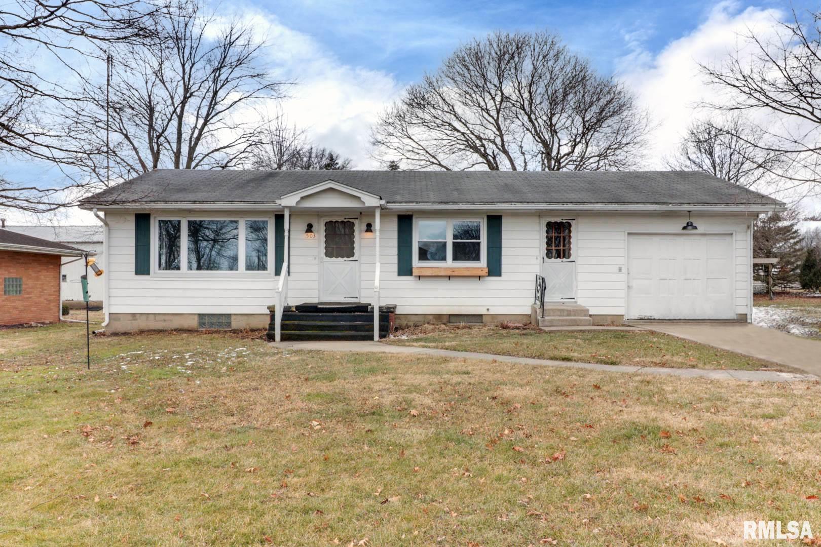503 HILLCREST Property Photo - Emden, IL real estate listing