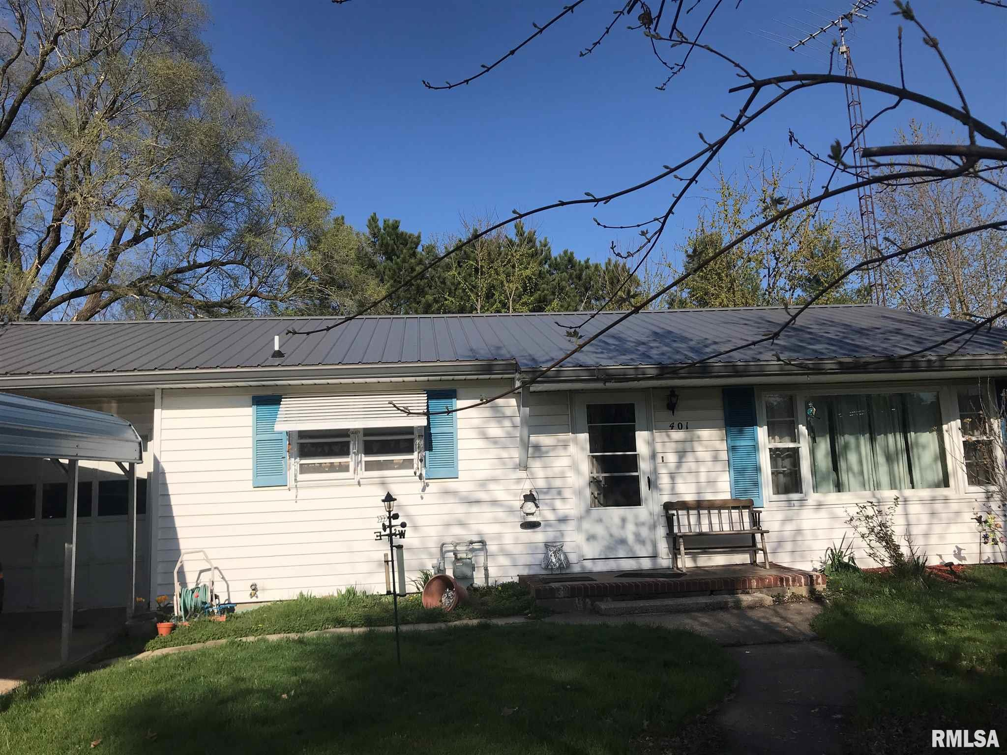 401 S McDonough Property Photo - Colchester, IL real estate listing