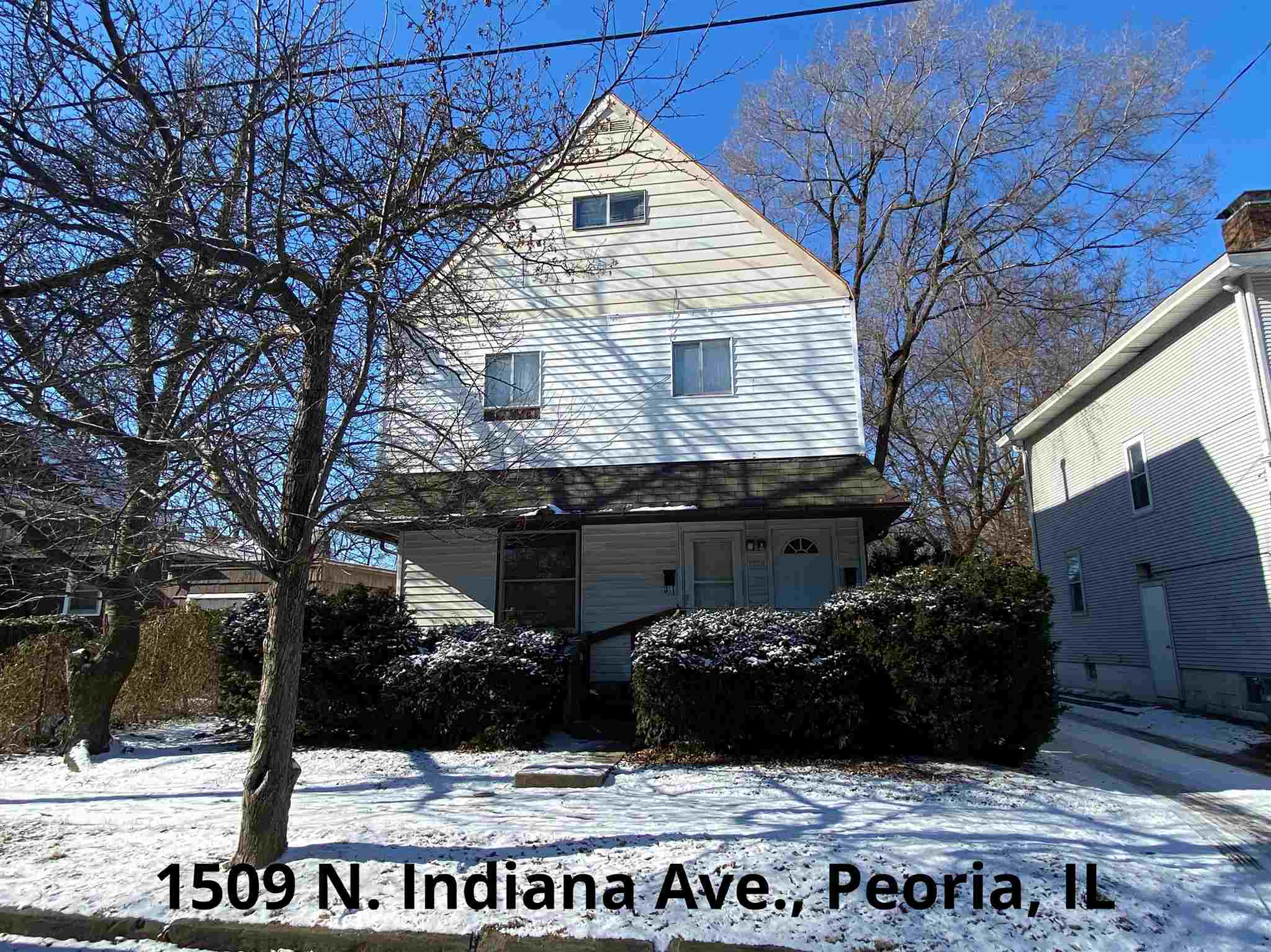 1509 N INDIANA Property Photo - Peoria, IL real estate listing