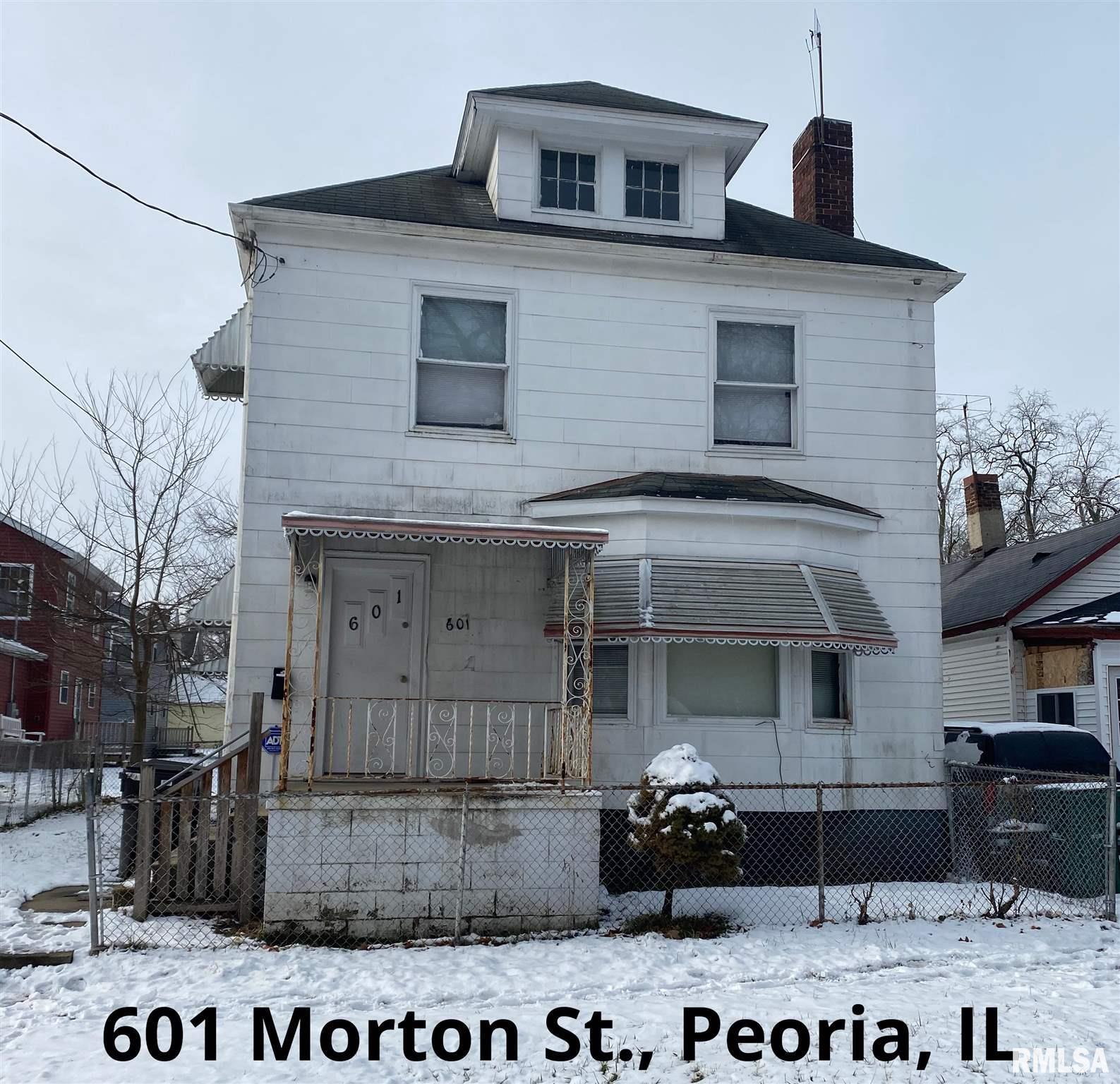 601 MORTON Property Photo - Peoria, IL real estate listing