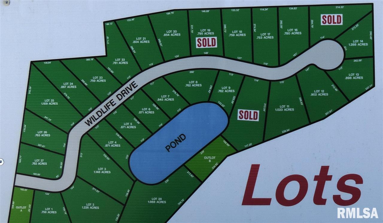 1537 WILDLIFE Property Photo - Blue Grass, IA real estate listing