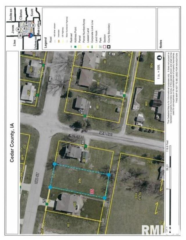 Lot 2 3RD Property Photo - Durant, IA real estate listing