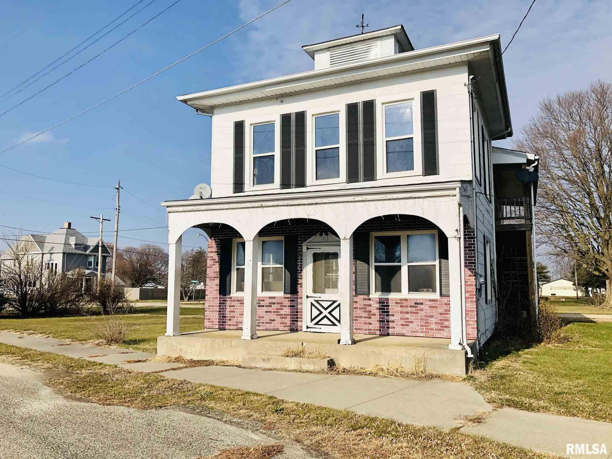 103 E MAIN Property Photo - Mineral, IL real estate listing