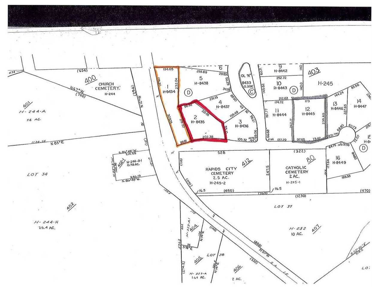 Lots 1 & 2 EAGLE POINT Property Photo - Rapids City, IL real estate listing