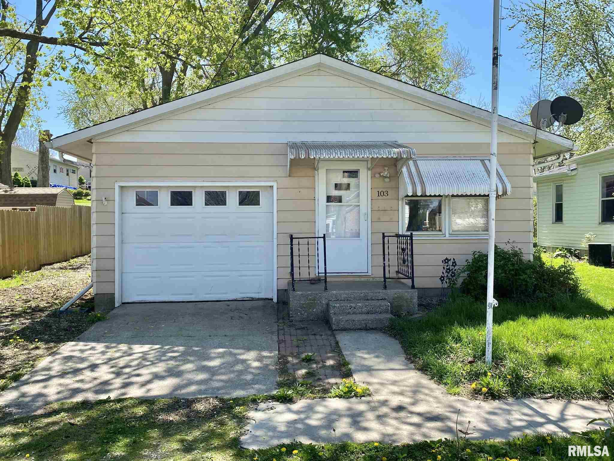103 N BLUFF Property Photo - Albany, IL real estate listing