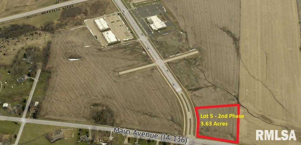 0 Lot 5 NW 19TH Property Photo - Clinton, IA real estate listing