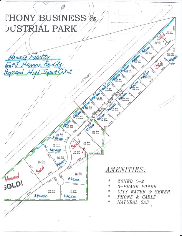 LOT 20 Industrial Park Road Property Photo - ST ANTHONY, ID real estate listing