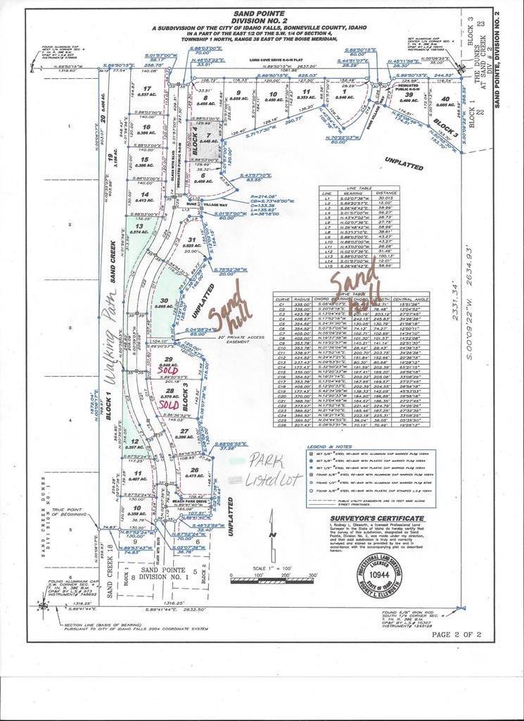 L7 B4 Glass Mountain Blvd Property Photo - IDAHO FALLS, ID real estate listing