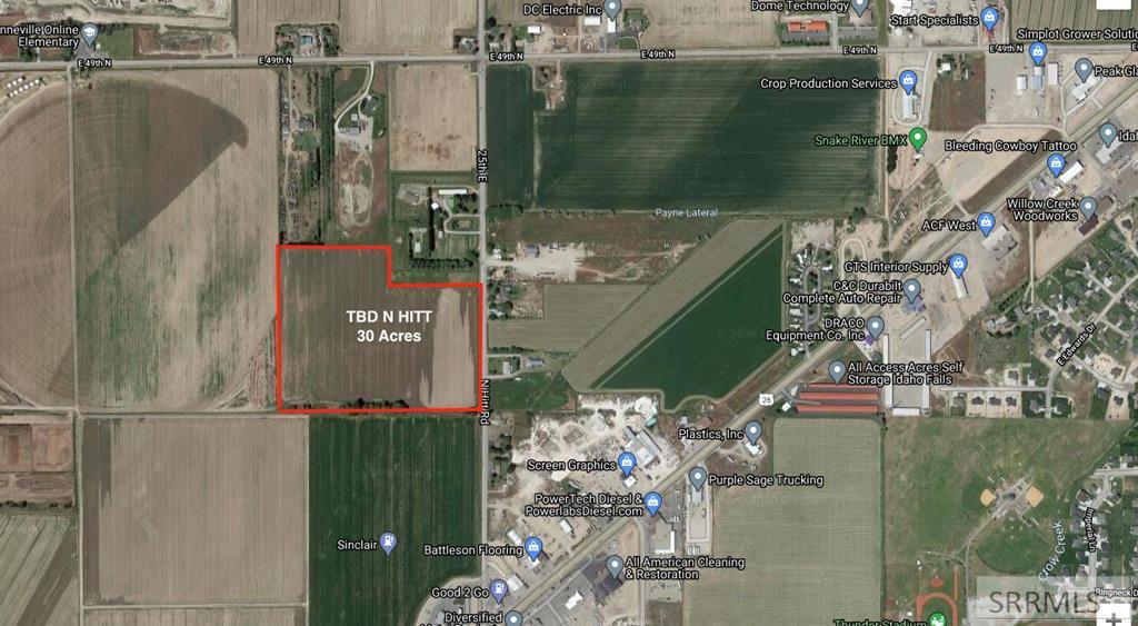 tbd N Hitt Road Property Photo - IDAHO FALLS, ID real estate listing