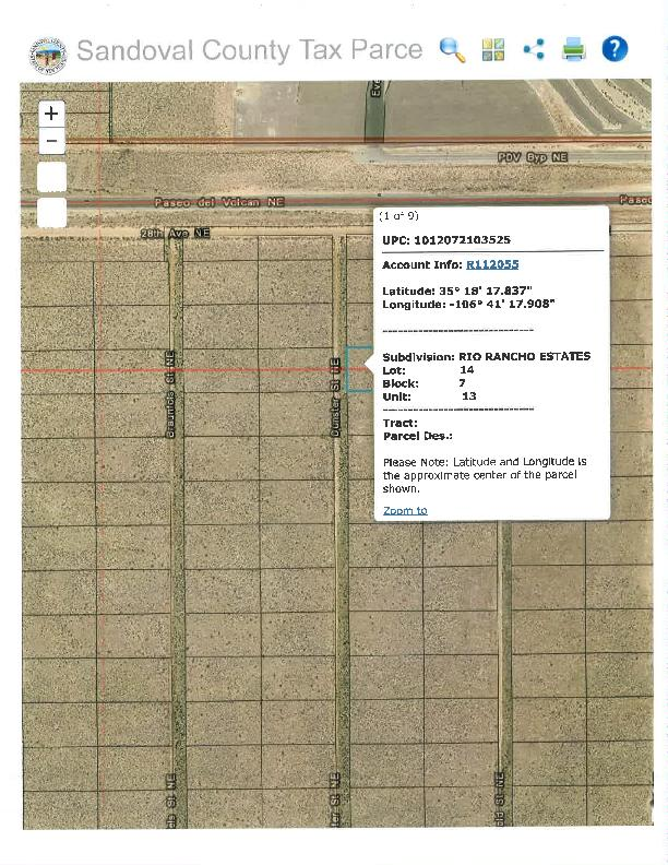 Unit 13, Block 7, Lot 14 Property Photo - Rio Rancho, NM real estate listing