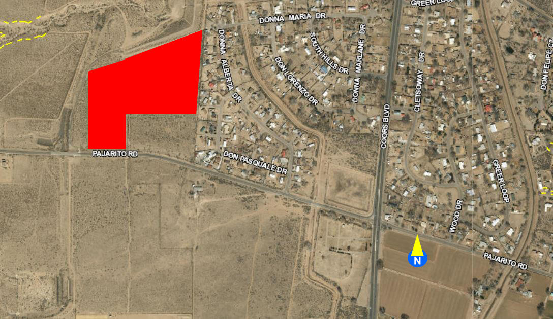 Off Pajarito (PW 9, 11,12) Road SW Property Photo - Albuquerque, NM real estate listing
