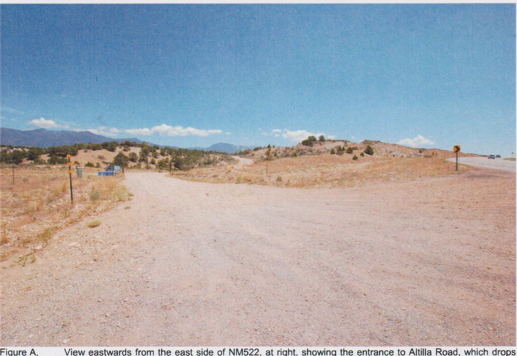 ALTILLA RD. Road Property Photo - Arroyo Hondo, NM real estate listing