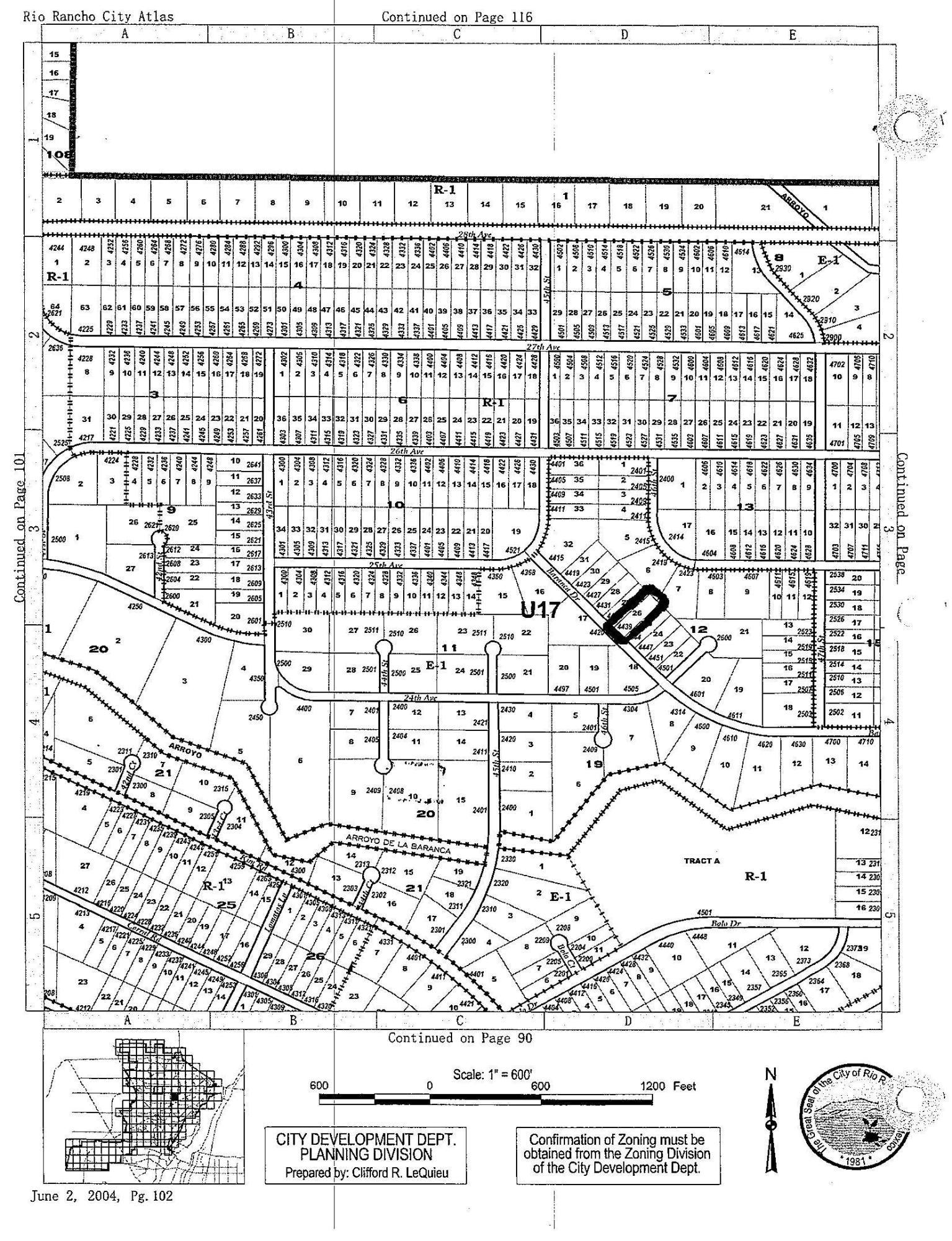 4439 Baranca(l26 B12 U17) Road Ne Property Photo