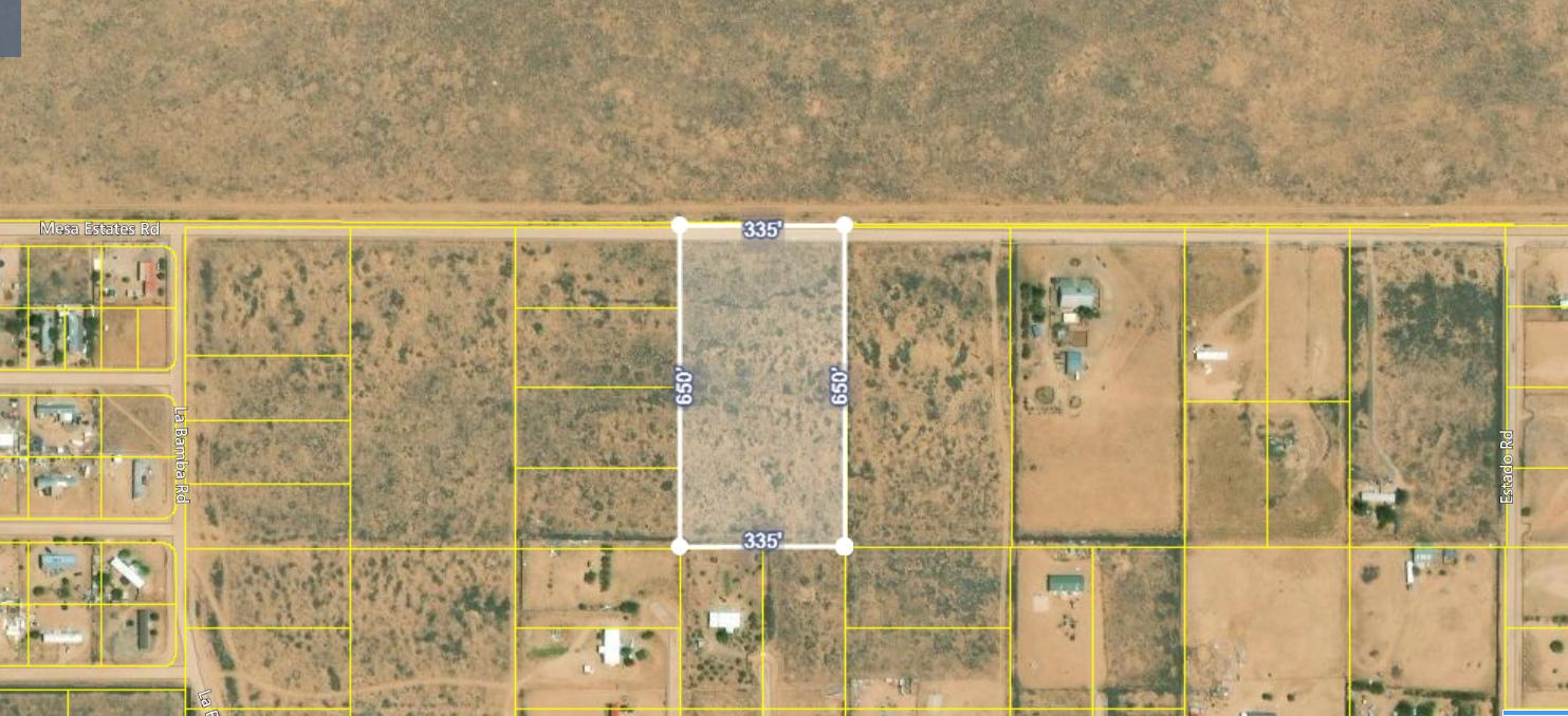 Mesa Estates Rd Tract 4 Road Property Photo - Meadow Lake, NM real estate listing