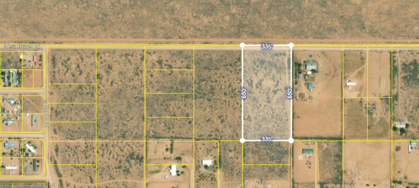 Mesa Estates Rd Tract 5 Road Property Photo - Meadow Lake, NM real estate listing